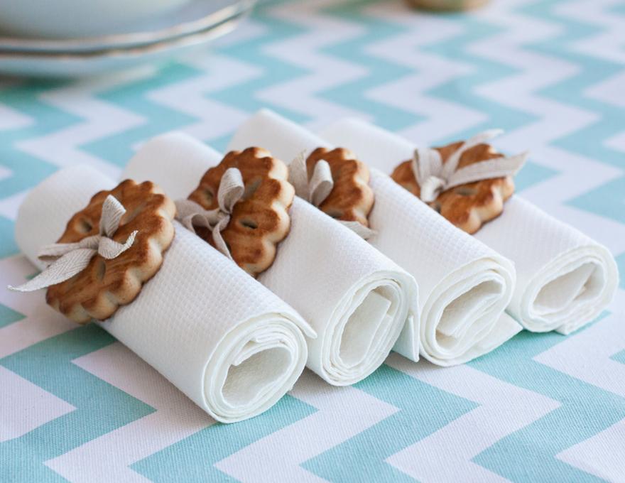 חבקי מפיות מארבע עוגיות פסח של האחים גטניו