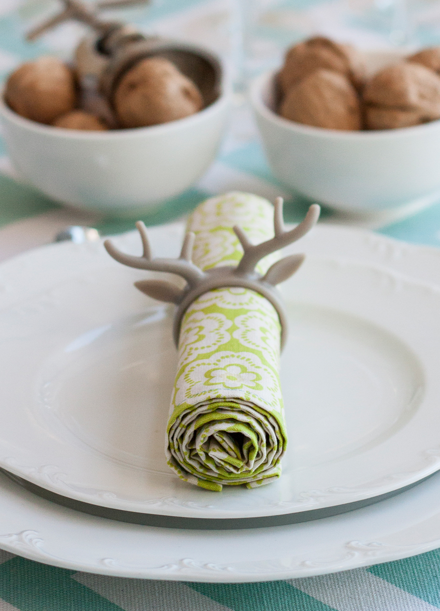 מפית בשולחן ערוך לחג הפסח