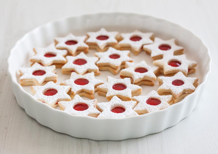 עוגיות ריבה מגן דוד כחול לבן