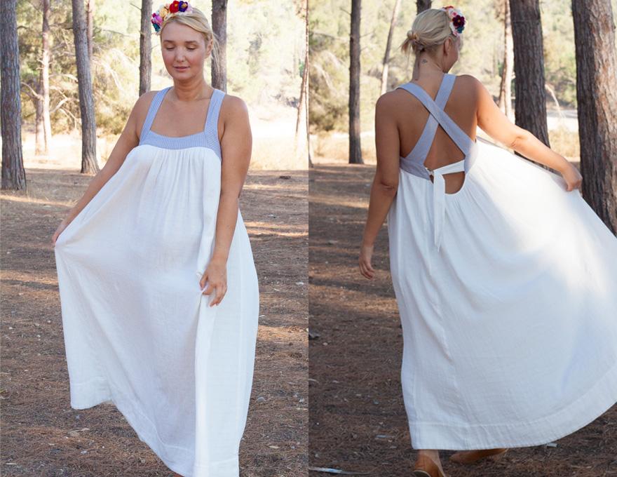 שמלה לבנה לחג האהבה